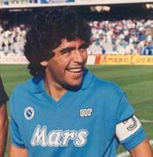 Golden Era - Maradona (Image from Footballitalia)