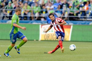 Torres scores against Seattle  (Image from Steven Bisig-USA TODAY Sports)