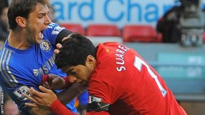 Suarez received a 10 match ban for biting last season  (Image from AP)