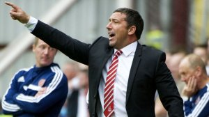 Derek McInnes masterminding the revival (Image from Daily Record)