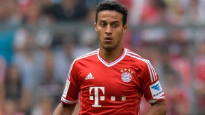 Thiago chose Bayern over United  (Image from Getty)