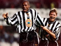 Asprilla's time at Newcastle was a huge success  (Image from Getty)