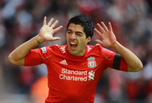 What Suarez will reappear is unknown  (Image from Getty)