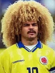 Big Hair, Iconic Player - Carlos Valderrama  (Image from AP)