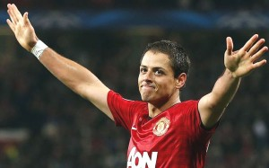 Follow my lead: Javier Hernandez leads the way  (Image from Getty)