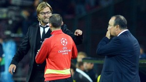 Klopp argues with the fourth Official, ending in a red card for the coach (Image from AP)