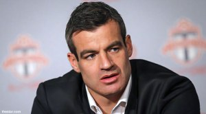 Frustrated - Coach Nelsen  (Image from TFC)