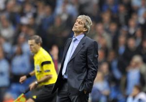 Pellegrini watches Hart make another mistake  (Image from Getty)