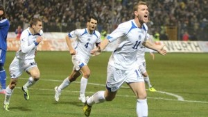 Job Done - Bosnia reach their first World Cup (Image from Getty)