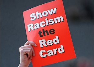 Both FIFA and UEFA have rolled out anti racism campaigns with little success  (Image from FIFA)