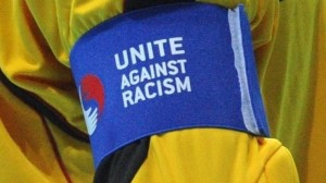 Racism still is an issue in the game (Image from stock)