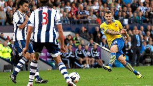 Redemption - Wilshere salvages a point for Arsenal against West Brom  (Image from Getty)