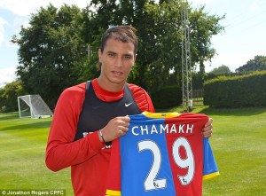 Hit and Miss - Marouane Chamakh  (Image from Jonathan Rogers CPFC)