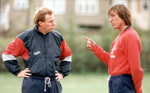 Redknapp and Bonds during better days  (Image from AP)