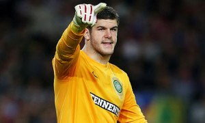 Replacement? Fraser Forster  (Image from PA)