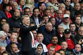 Sections of the United fans are not happy with Moyes (Image from Getty)