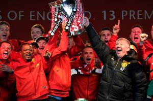Success at United = Trophies (image from Getty)