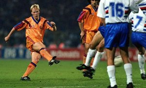 Koeman's strike changed the fortunes for Barca (Image from Getty)