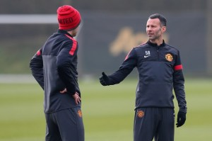 Moyes needs Giggs to step up in his new coach role  (Image from AFP)