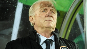 Giovanni Trapattoni was dismissed after failing to qualify  (Image from David Maher / SPORTSFILE)