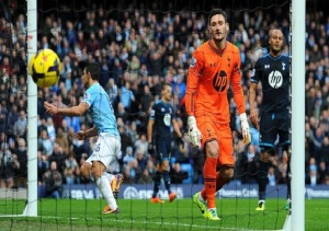 Tottenham taught a lesson by City yesterday  (Image from Getty)
