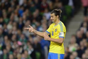 ibrahimovic was unable to overturn Portugal's lead  (Image from PA)