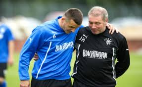 McCoist and McCulloch talk tactics  (Image from AFP)