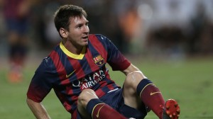 Messi ruled out for 6-8 weeks (Image from PA)