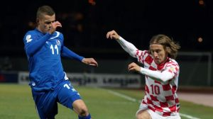 Croatia and Iceland battled it out during the Play offs (Image from Getty)