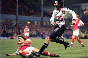 Wonder goal against Arsenal  (Image from Getty)
