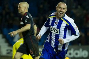 Boyd has been scoring for Killie (Image from PA)