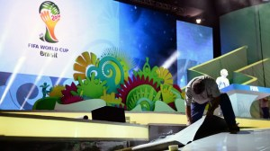 Getting ready for the draw (Image from FIFA)