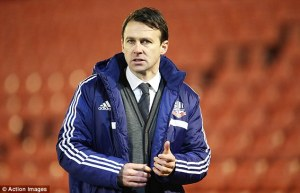 Uncertain future for manager Dougie Freedman  (Image from PA)