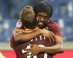 Gervinho has benefitted from Totti's setup play  (Image from Getty)