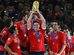 Current World Cup holders, Spain  (Image from Getty)