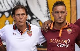 Garcia and Totti lead Roma forward  (Image from PA)