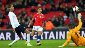 Chile ran out victors the last time they faced England  (Image from PA)