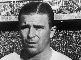 The legendary Puskas (Image from PA)