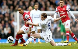 Arsenal ripped apart Spurs earlier this season  (Image from Getty)