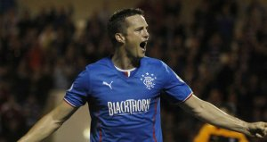 Jon Daly has fired Rangers into a comfortable lead in the League  (Image from Getty)