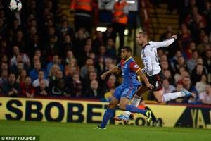 Pajtim Kasami goal vs Palace   (Image by Andy Hooper)