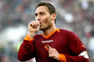 Ruling Like Never Before - The King of Rome, Francesco Totti  (Image from Getty)