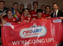 Going Up - But who will follow Cardiff this year? (Image from AFP)