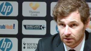 Villas Boas reacted angrily to reporter Neil Ashton's questions  (Image from PA)