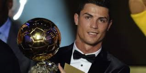 Ballon D'Or winner Ronaldo (Image from FIFA)