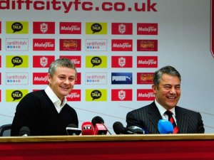 All Smiles For Dalman at the Press Conference  (Image from Getty)