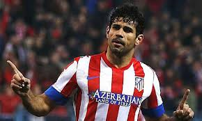 Diego Costa on his way to the Bridge  (Image from AFP)