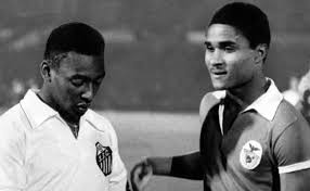 World Greats - Pele and Eusebio  (Image from Getty)