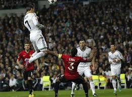Ronaldo's vertical leap stuns United in the Champions League (Image from PA)