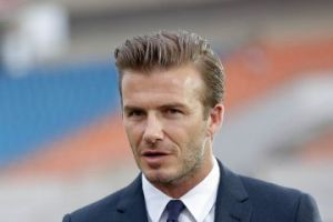 Beckham announces Miami franchise (Image from PA)